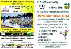Slovenský pohár v behu na kolieskových lyžiach Látky 2019